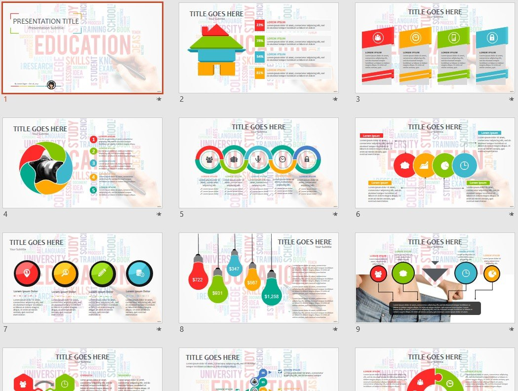 Free Education Powerpoint 63041 Sagefox Free Powerpoint Templates