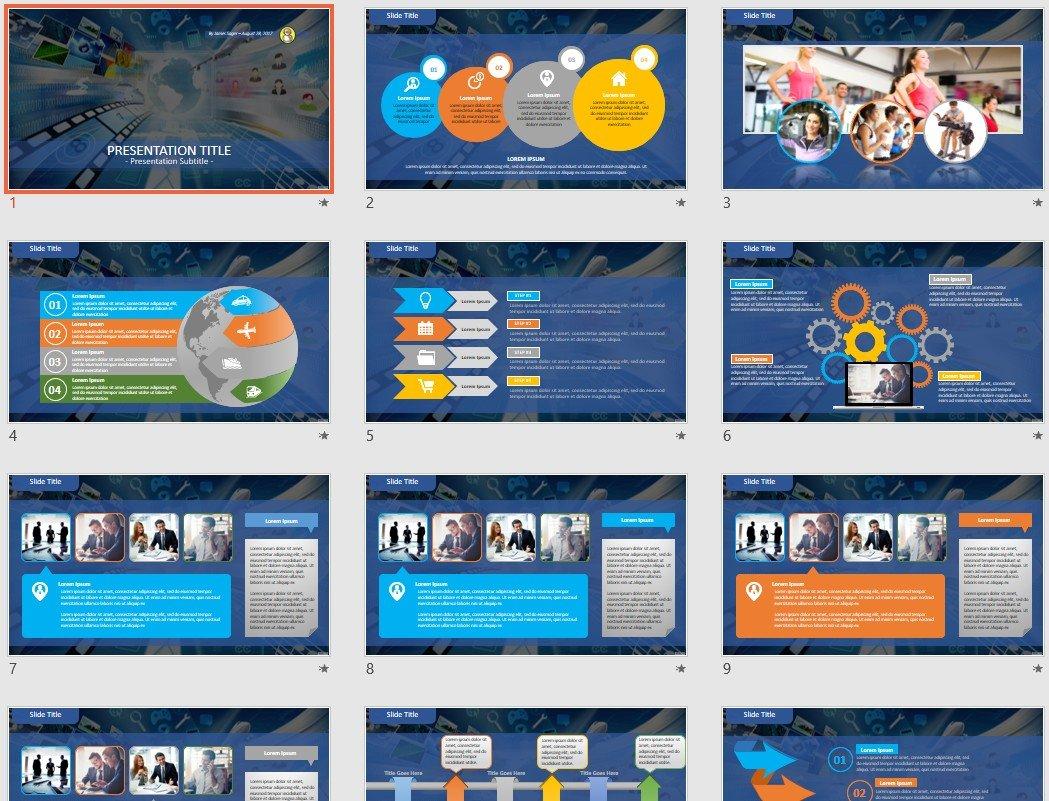 Free multimedia powerpoint 61377 sagefox free powerpoint templates by james sager maxwellsz