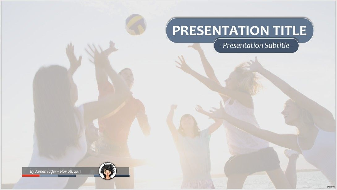 Free volleyball powerpoint 52000 13921 free powerpoint volleyball ppt toneelgroepblik Choice Image