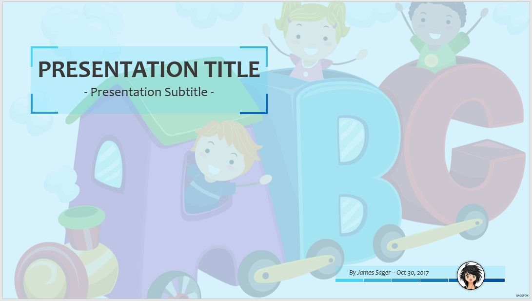 Free early learning ppt 63722 sagefox free powerpoint templates by james sager toneelgroepblik Gallery