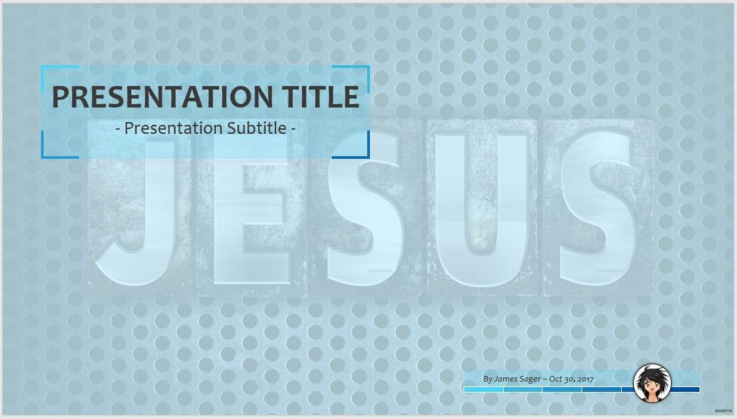 Free Jesus Ppt 64831 Sagefox Free Powerpoint Templates