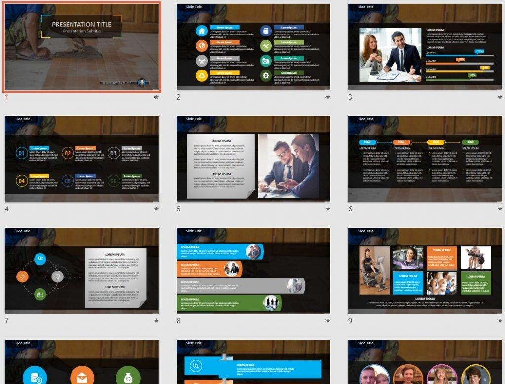 Home Improvement PowerPoint by SageFox