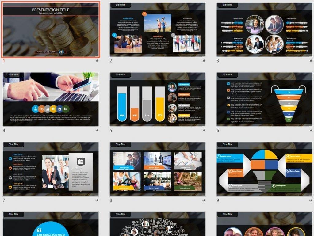 money PowerPoint by SageFox