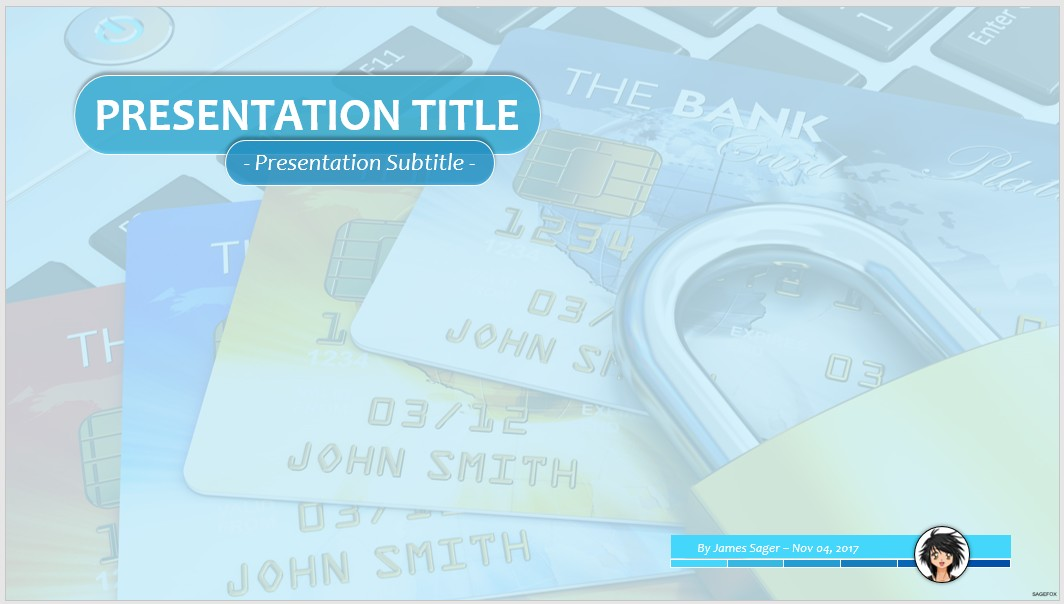 Free online banking security ppt 65586 sagefox powerpoint templates by james sager toneelgroepblik Gallery