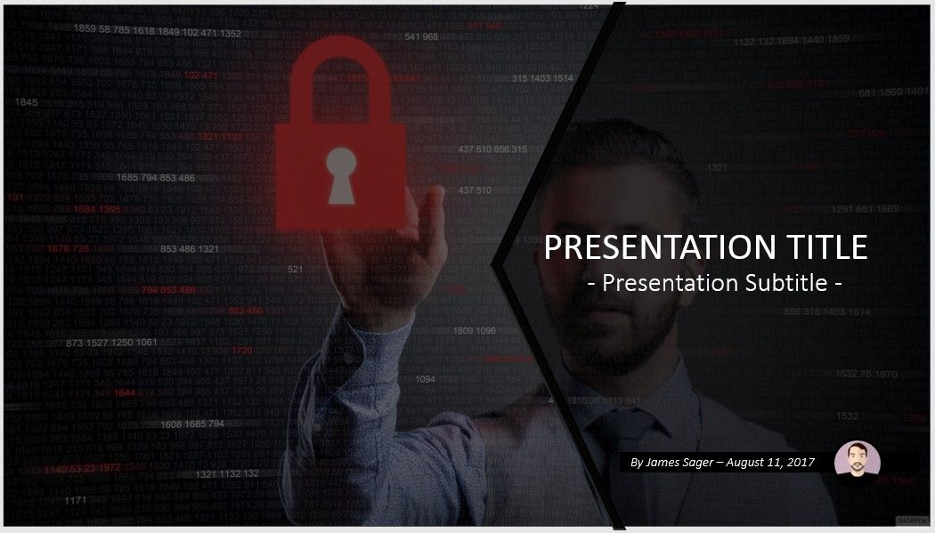 free internet security powerpoint template #10760 | sagefox, Powerpoint templates