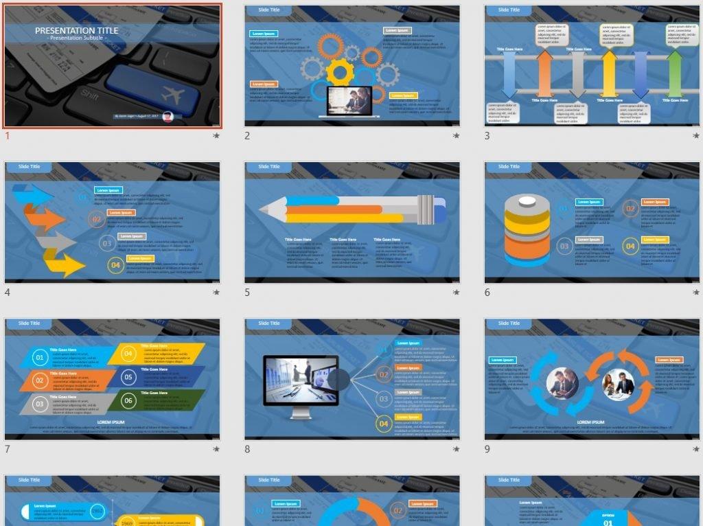 travel PowerPoint by SageFox