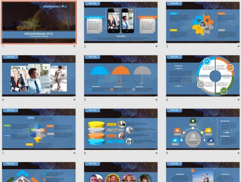 tech PowerPoint by SageFox