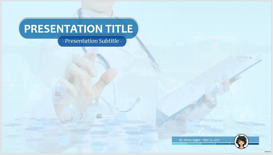free medical ppt #66396 | 14099 free powerpoint templates, Modern powerpoint
