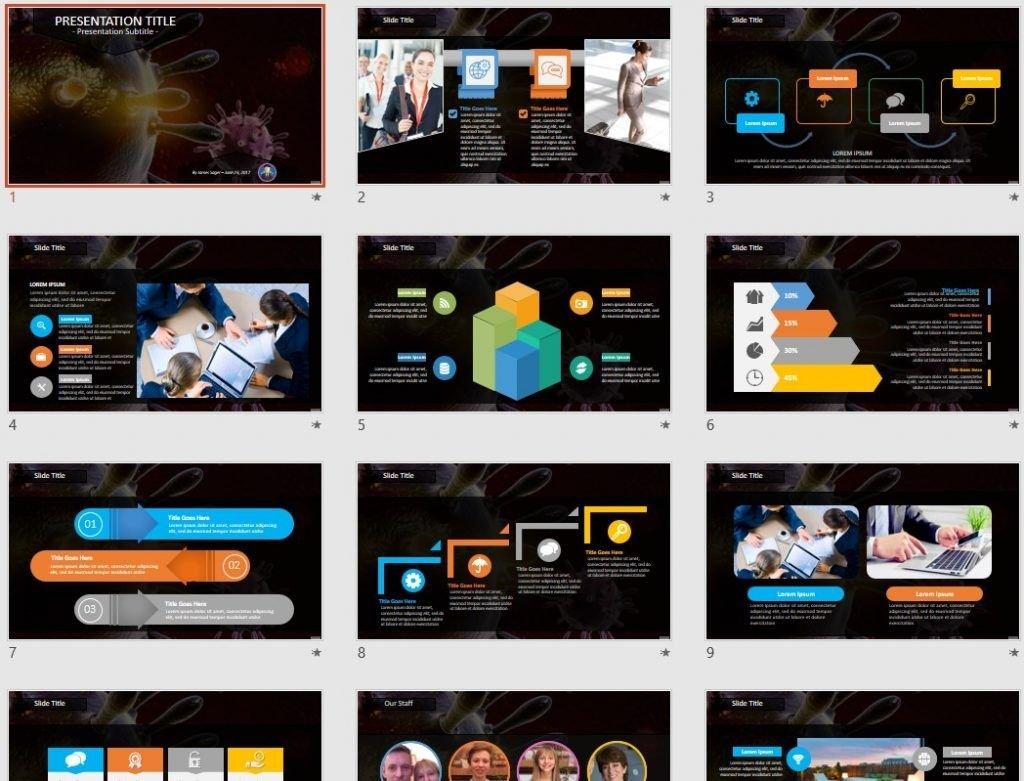 Virus PowerPoint by SageFox