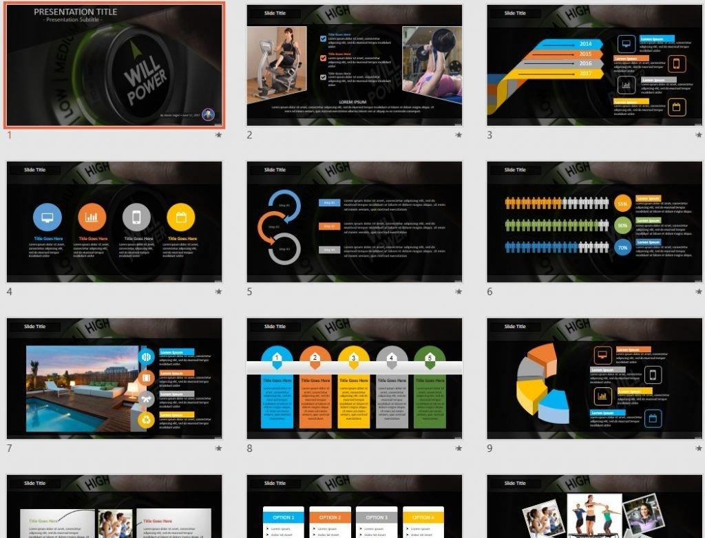 Willpower PowerPoint by SageFox