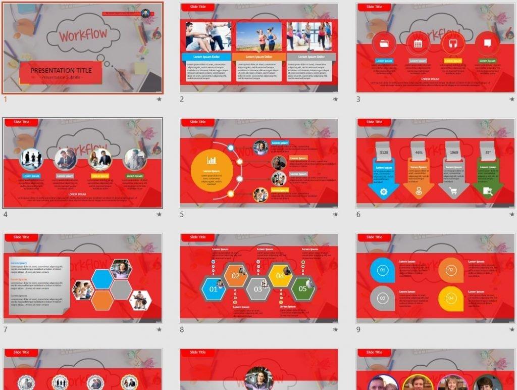 workflow PowerPoint by SageFox