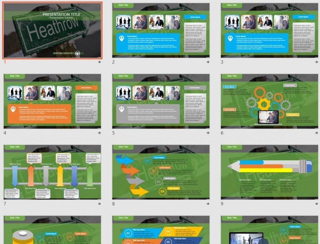 heathrow PowerPoint by SageFox
