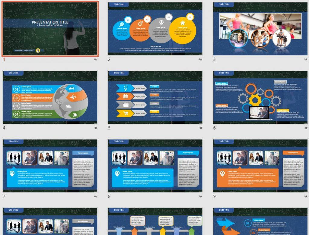 math PowerPoint by SageFox