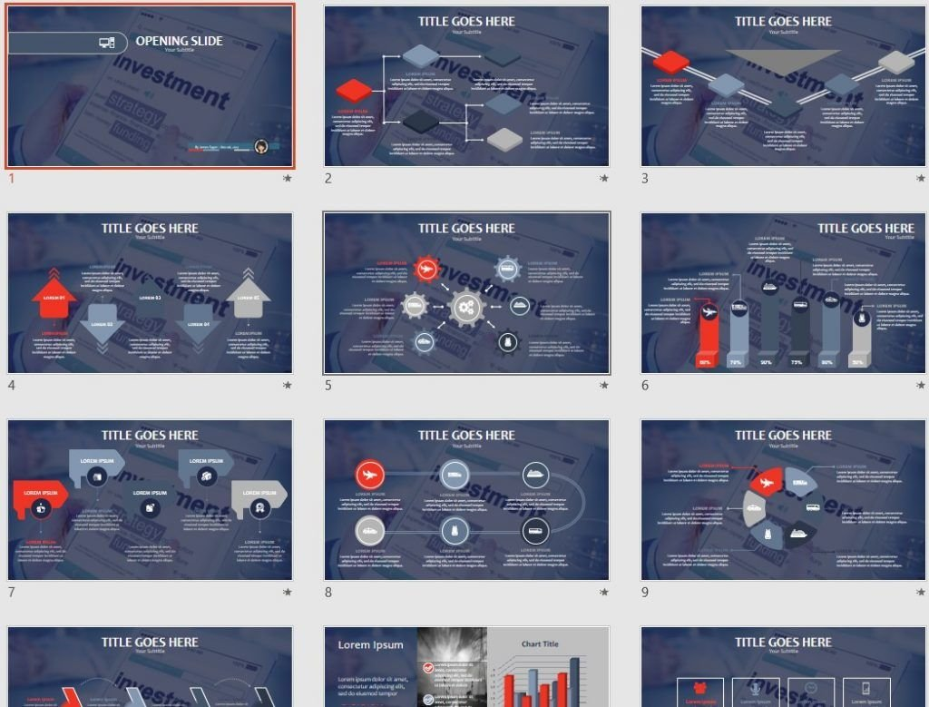 Investment Strategy PPT by SageFox