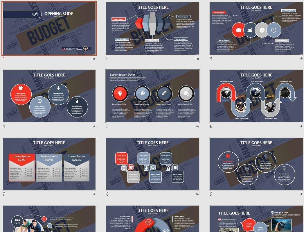 free budget powerpoint 67429 sagefox free powerpoint templates