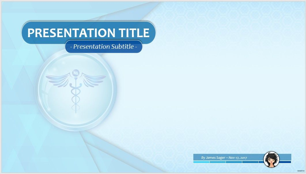 free abstract medical ppt #67664 | 14131 free powerpoint templates, Modern powerpoint