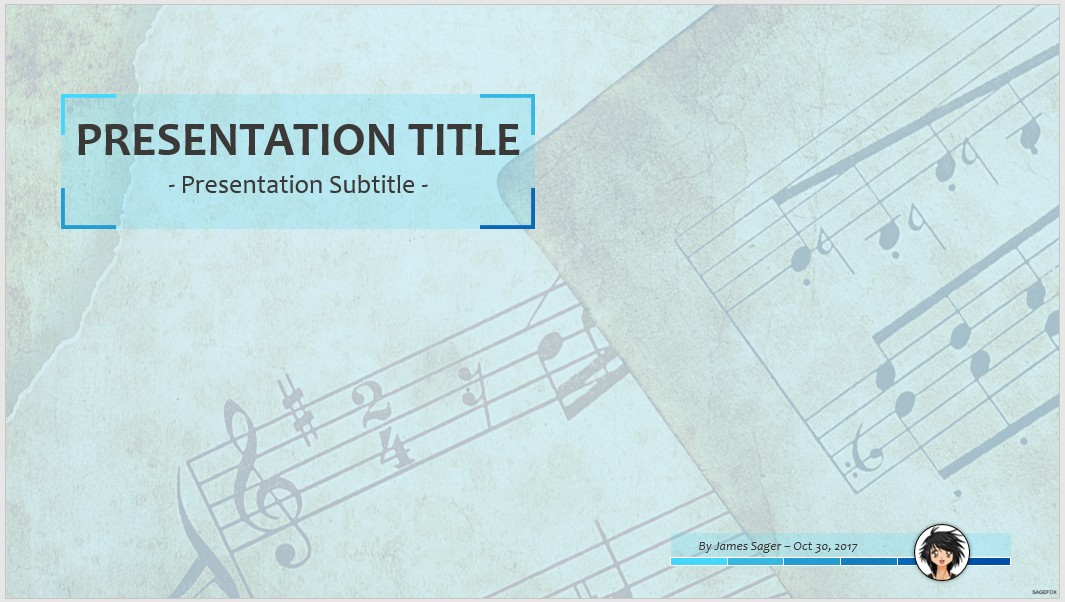 free music ppt #67729 | 14130 free powerpoint templates | sagefox, Powerpoint templates