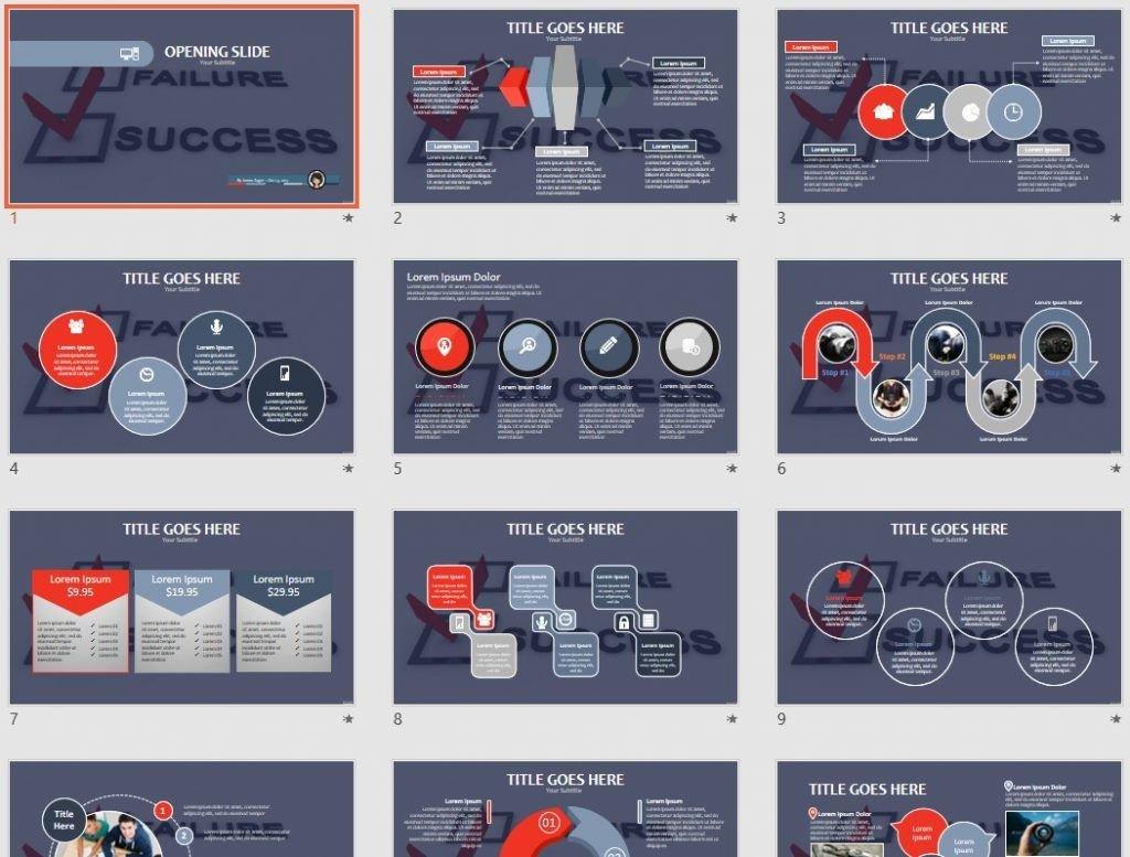 success PPT by SageFox