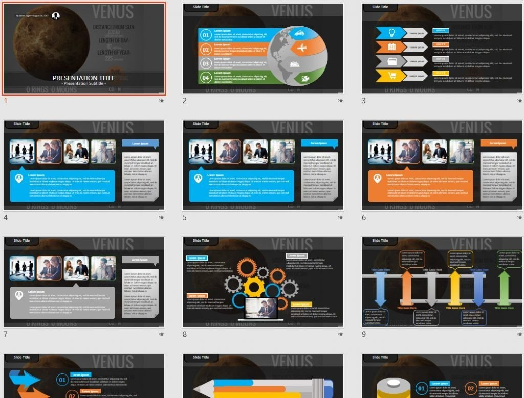 Venus PowerPoint by SageFox