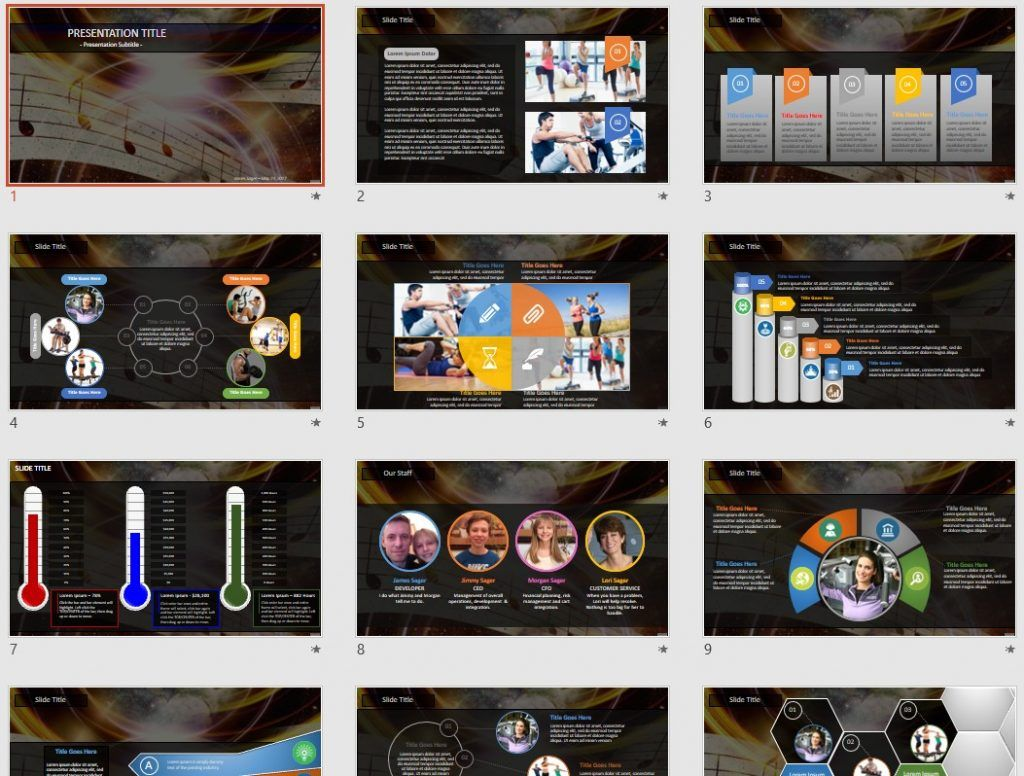 powerpoint notes template gallery - templates example free download, Powerpoint templates