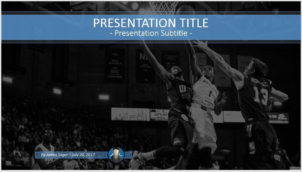 Basketball Powerpoint Template  Free Basketball Powerpoint