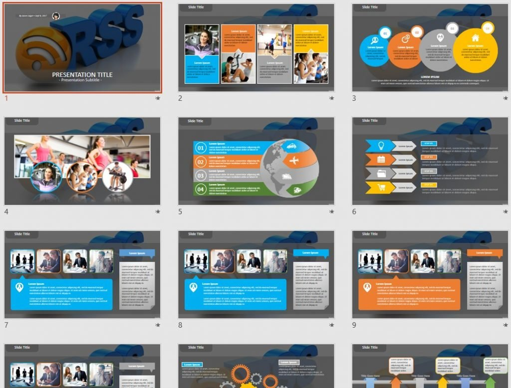 Rss PowerPoint by SageFox