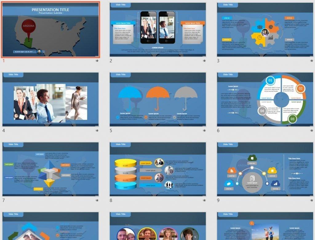 Arizona PowerPoint by SageFox