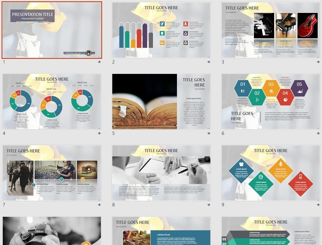 Free Construction Powerpoint 62695 Sagefox Free Powerpoint Templates