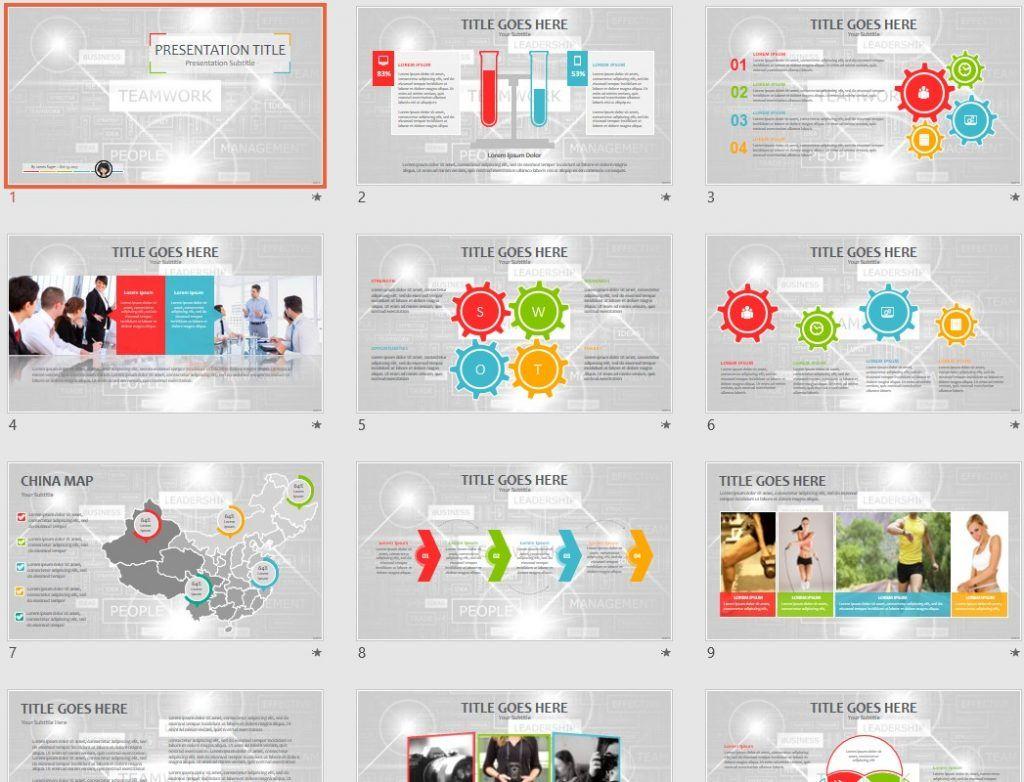 Teamwork Powerpoint Slides Design three tier architecture diagram