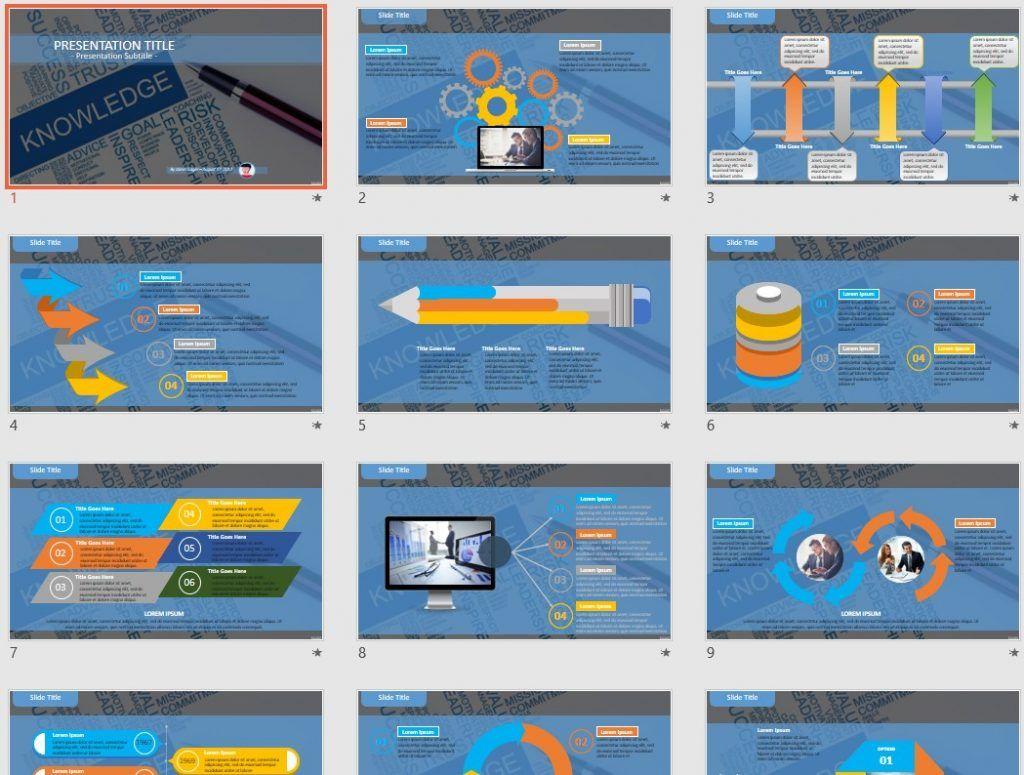Knowledge PowerPoint by SageFox