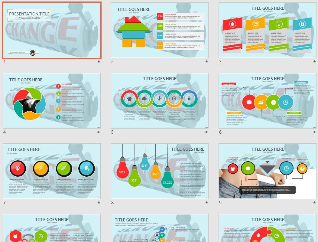 change powerpoint template  71302