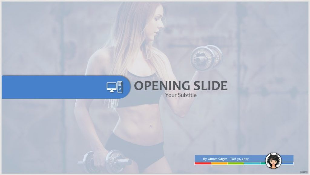 fitness PPT by SageFox