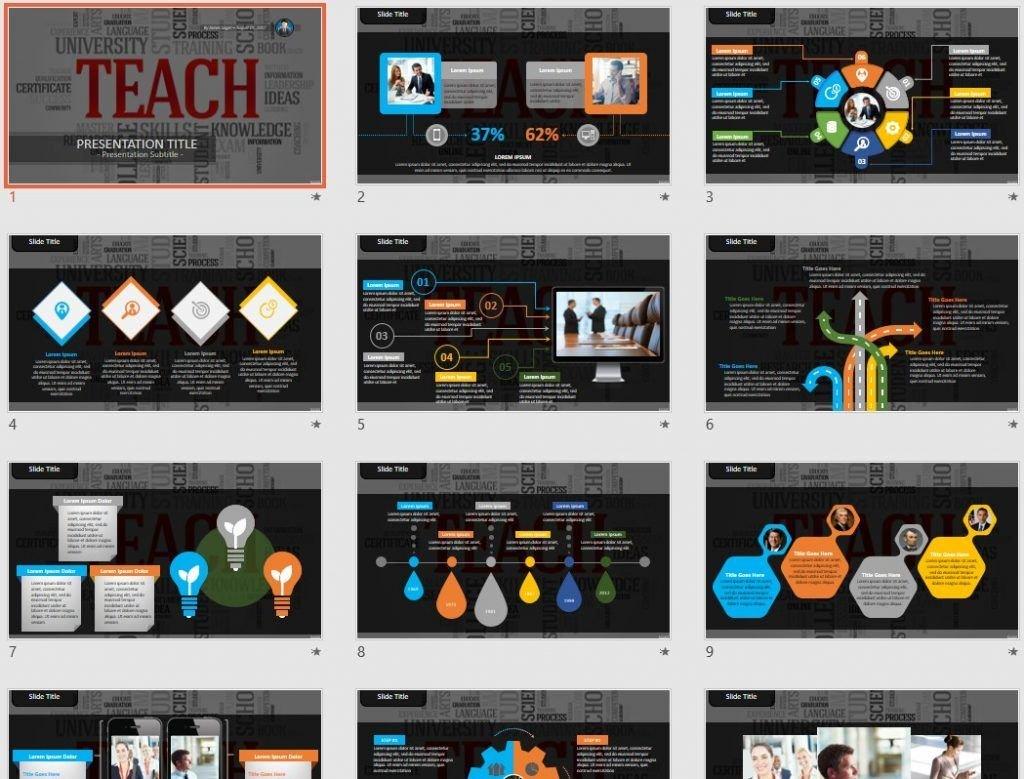 teach PowerPoint by SageFox