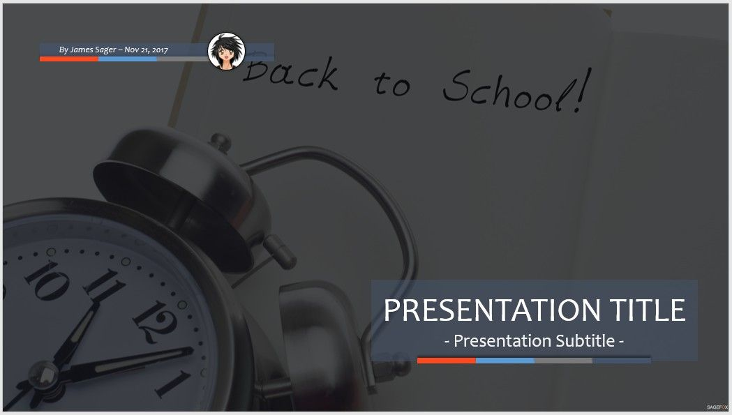 free back to school ppt #69007 | 14105 free powerpoint templates, Powerpoint templates