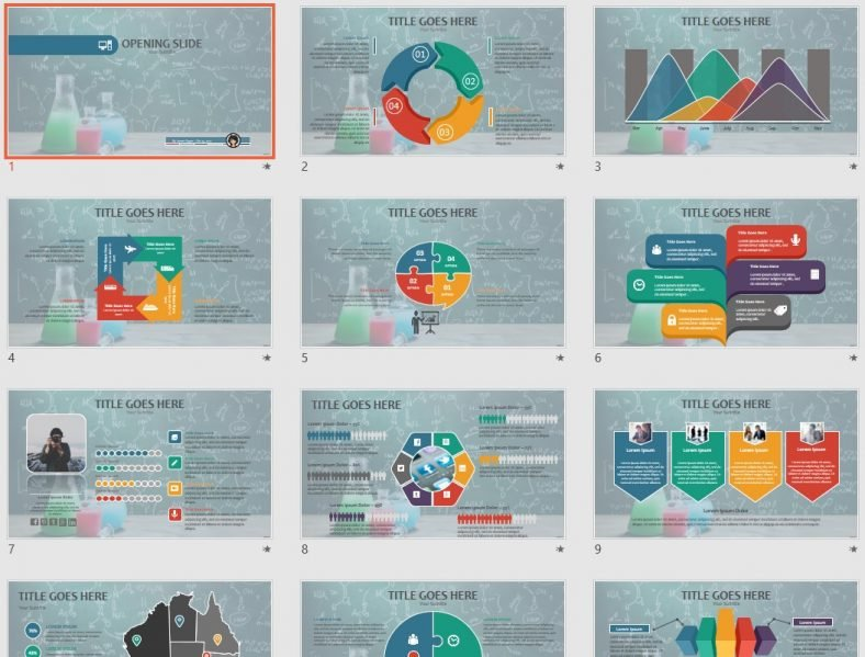 free science powerpoint 68849 sagefox free powerpoint templates