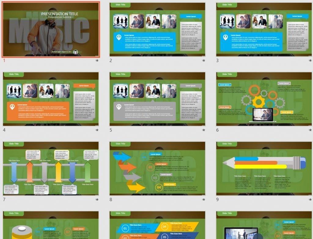 dj PowerPoint by SageFox