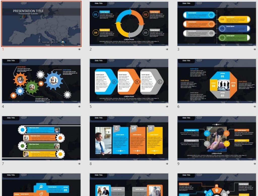 Ireland PowerPoint by SageFox