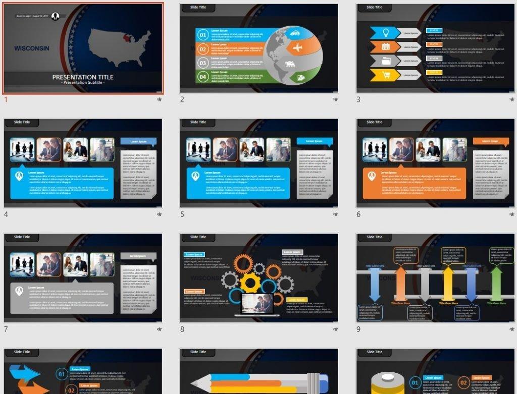 Wisconsin PowerPoint by SageFox