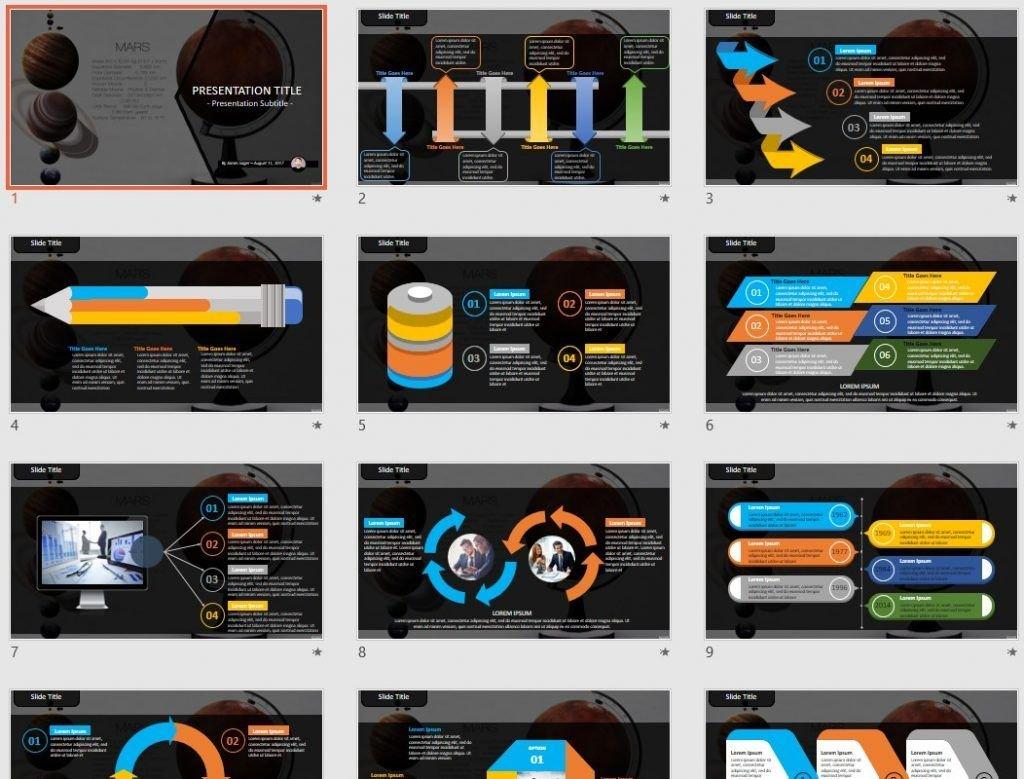 Mars PowerPoint by SageFox