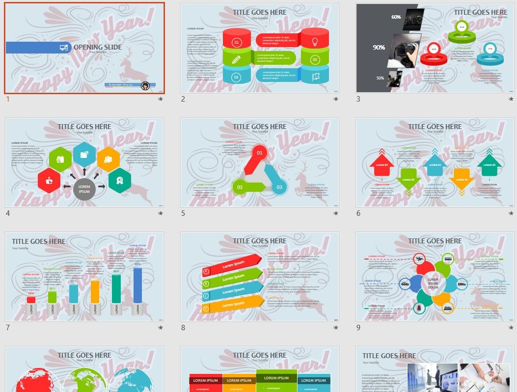 please share this free powerpoint template