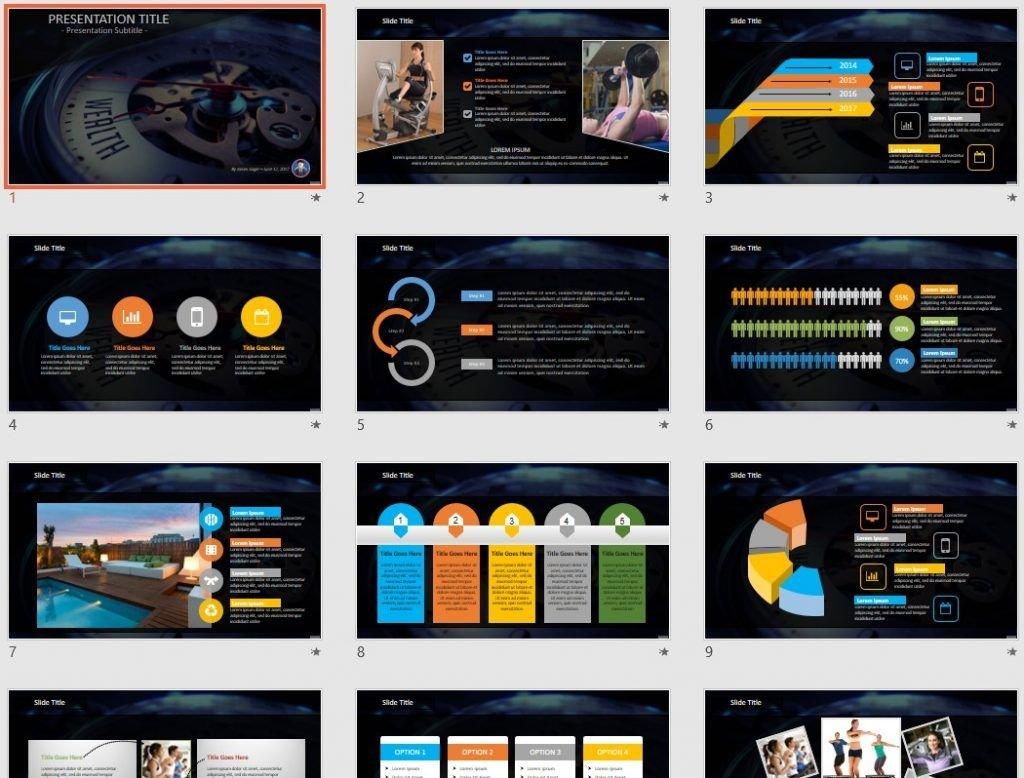 Wealth PowerPoint by SageFox