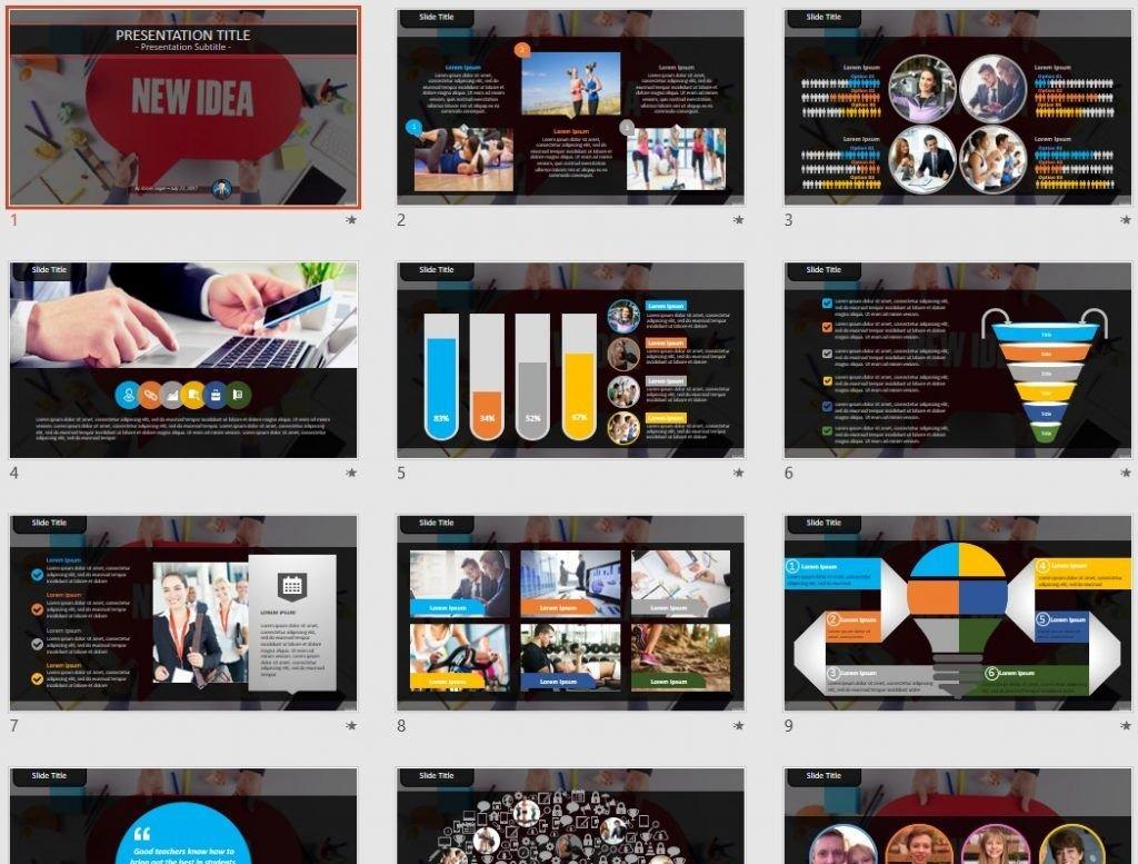 new idea PowerPoint by SageFox