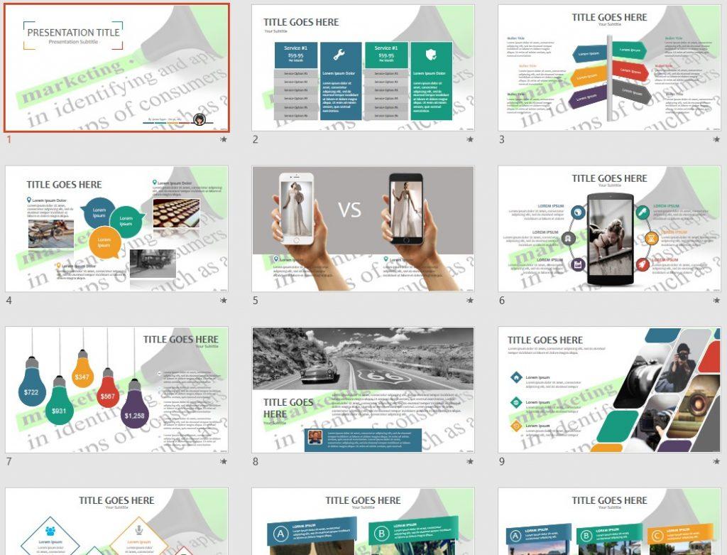 Marketing PPT by SageFox