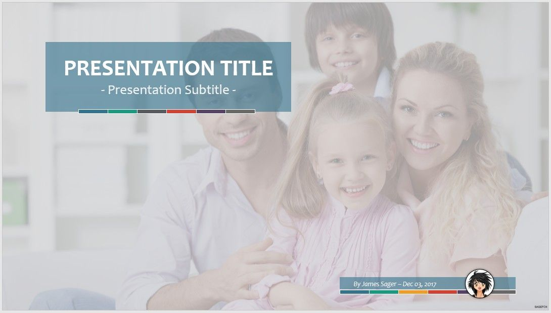 free family ppt #72531 | 14091 free powerpoint templates | sagefox, Powerpoint templates