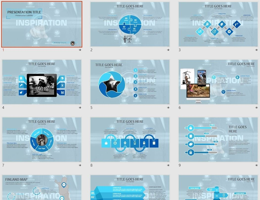 free inspiration powerpoint 72819 sagefox free powerpoint templates