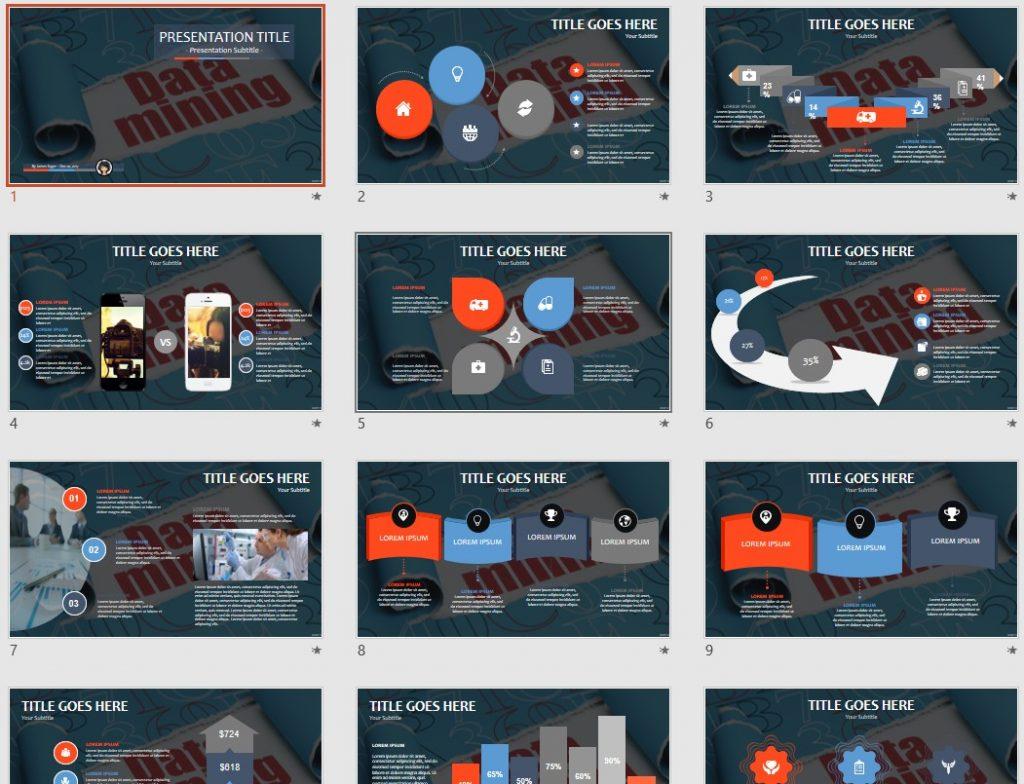 Data Mining PPT by SageFox