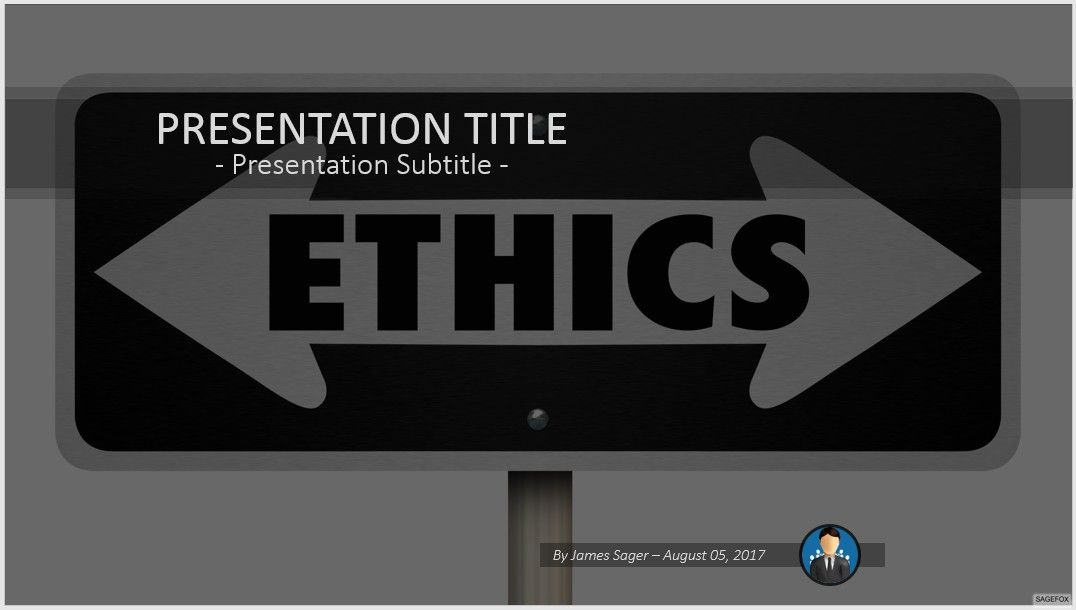 Free ethics powerpoint 71662 14009 free powerpoint templates by james sager toneelgroepblik Gallery