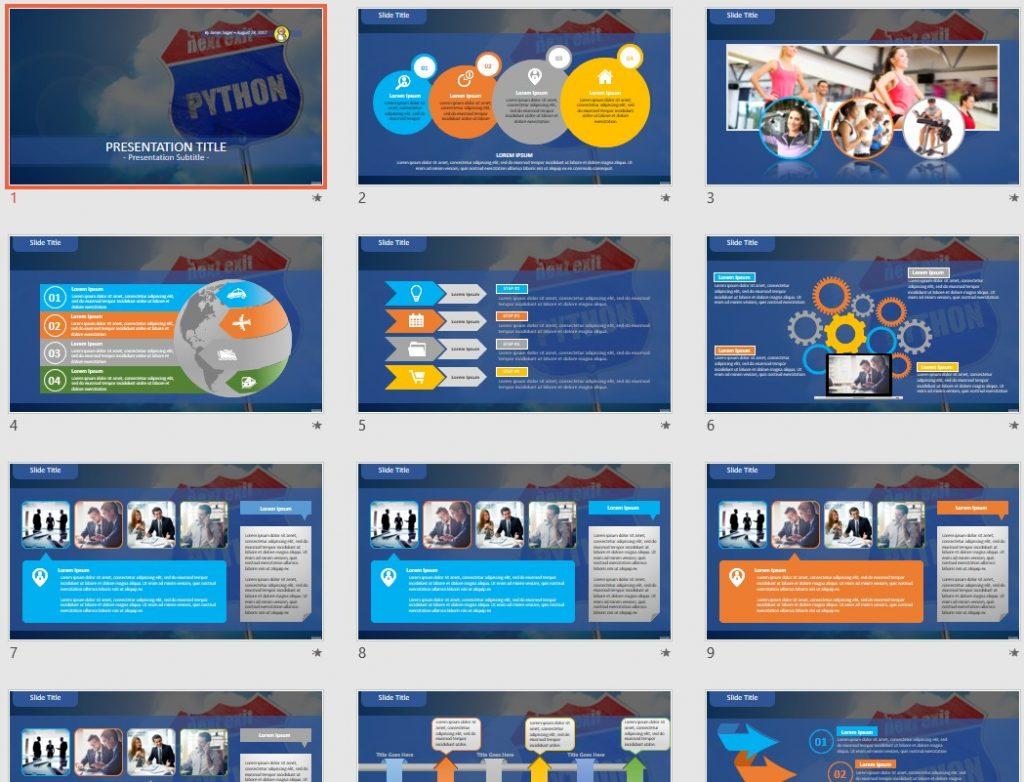 python PowerPoint by SageFox