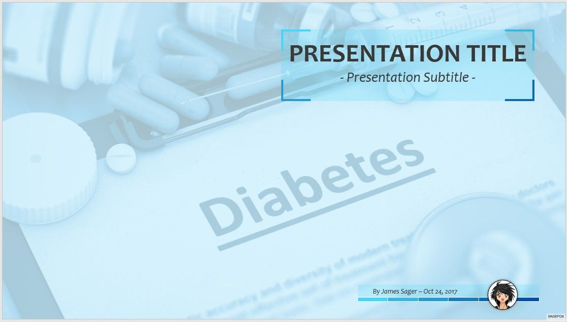 Free diabetes ppt 73637 13947 free powerpoint templates by james sager toneelgroepblik Choice Image