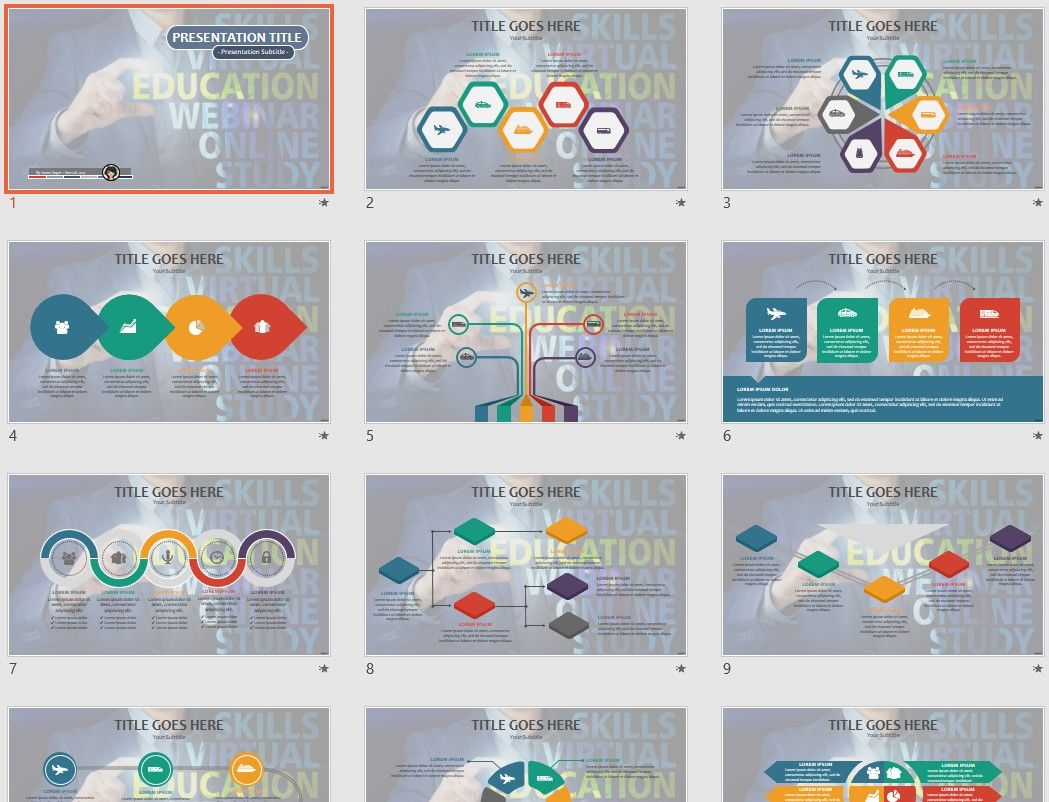 Free Education Powerpoint 73783 Sagefox Free Powerpoint Templates